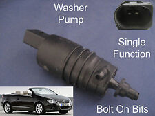 Front Windscreen Washer Pump VW Eos 2006 2007 2008 2009 2010 2011 2012 2013 etc