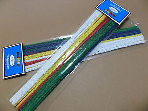 Jean Claude Pipe Cleaners for Vintage Pipes - Colourful - 30 CM - New - 010086