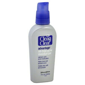 Clean & Clear Advantage Oil Free Acne Moisturizer, 4 oz