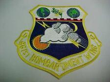 USAF 461ST BOMBARDMENT WING SQUADRON ORIGINAL FLIGHT SUIT/ JACKET PATCH