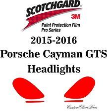 3M Scotchgard Paint Protection Film Pro Series 2015 2016 Porsche Cayman GTS
