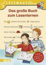 LESEMAUS zum Lesenlernen Sammelbände: Das große Buch zum Lesenlernen von Angelika Mechtel, Antje Schwenker und Ulrike Pohlmann (2009, Gebundene Ausgabe)