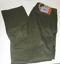 NWT TAILOR VINTAGE OLIVE GREEN STRAIGHT FIT 100% COTTON SIZE 32X30