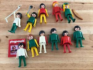 Playmobil Play People Lot Bundle Robin Hood Medieval 1970's Vintage Figures