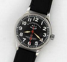 Rare Soviet USSR Mechanical watch STURMANSKIE 1MCHZ Stop Secunda #264