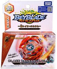 TAKARA TOMY Blaze Ragnaruk / Beserk Roktavor 4CFI Burst Beyblade B75 - US SELLER