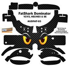 Angry Eyes Fat Shark Dominator V2 V3 HD2 HD3 Skin Wrap Decal FatShark Goggle