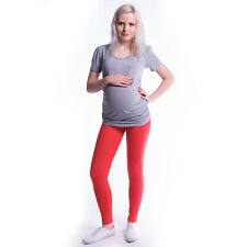 Cropped Full Length Cotton Maternity Leggings Pants Pregnancy Over Bump
