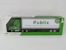 1/32 Scale Die-Cast 18-Wheeler Publix Freightliner Truck, new with box, Semi