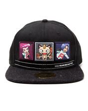OFFICIAL NINTENDO'S POKEMON TEAM ROCKET BLACK SNAPBACK CAP (BRAND NEW)