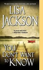 You Don't Want To Know, Jackson, Lisa, Excellent Book