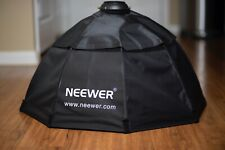 """New listing Neewer 28"""" Octobox w/Grid, Bowens Mount, Double Diffused"""