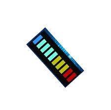2PCS New 10 Segment Led Bargraph Light Display Red Yellow Green Blue U8