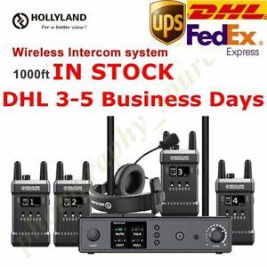 Hollyland MARS T1000 Full-Duplex Wireless Intercom System 1000ft Range Dual Devi