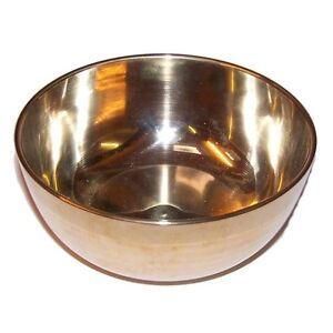 Tibetan Singing Bowl - Brass Suzu Gong Rin Gong - Mantra Bowl Meditation Bowl