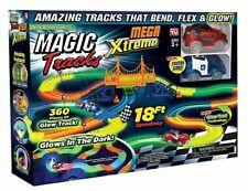 Magic Tracks Extreme Mega As Seen On TV Glow Toy Race Track Plastic
