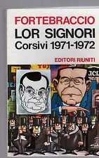 fortebraccio --lor signori corsivi 1971-1972 -   febdicianov