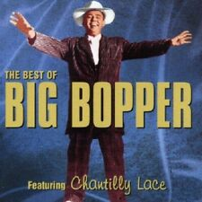 Big Bopper Best Of CD NEW SEALED Chantilly Lace/Big Bopper's Wedding+