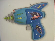 2013 Hallmark Magic CAPTAIN NELLO'S RAY GUN Ornament SPACE TOY Light & Sound