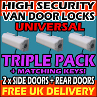 LAND ROVER TRIPLE PACK High Security Vehicle Locks = 2 x Side + 1 x Rear Door