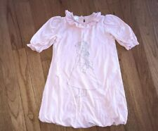 Persnickety Pink Knit Bubble Dress Princess Girl Size 12