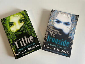 Holly Black x 2 Books 1 2 Modern Faerie Tale Ironside Tithe  Paperback Free Post