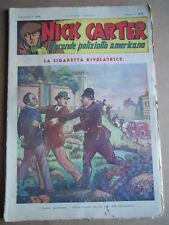 Nick Carter Il Grande poliziotto americano Anni 40 n°48 ed. NERBINI  [G369]