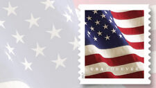 2017 Forever USPS Flag Stamps~Coil of 100 stamps~SELF ADHESIVES STAMPS 🐵🙈🙉🙊
