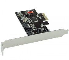 Schnittstellenkarte 2x SATA II RAID 0,1 PCIe (PCI-Express)