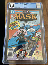 MASK #3 CGC 8.5 White Pages