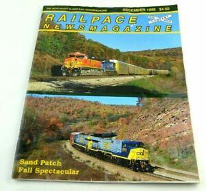 Railpace News Magazine Newsmagazine Train Illustrated Picture Info December 1999