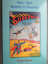 BOOKMARK SUPERMAN Comic Number 10 Cover Wallace & Scott Books