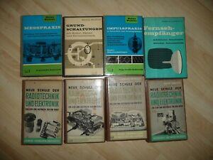 Elektronik Elektrotechnik - Heinz Richter - Radio & Elektronik Konvolut gebunden