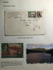 1940 Roseau Dominica Commercial Cover To Guelph Canada