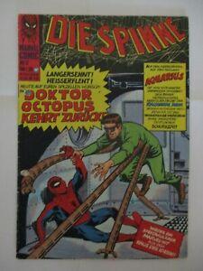 BRONZE AGE + MARVEL + GERMAN + 13 + DIE SPINNE + SPIDER-MAN #11 + DOKTOR OCTOPUS