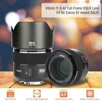 MEIKE 85mm F1.8 Auto Focus Full Frame Lens for Canon EF Mount DSLR Camera GBD