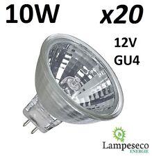 20 Ampoules halogène dichroique MR11 GU4 12V 10W