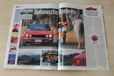 Auto Bild 17571) Fiat Dino Coupe in einer seltenen Vorstellung auf 4 Seiten