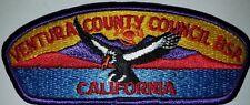Ventura County Council shoulder patch or CSP s-6a Camarillo, California Mint BSA