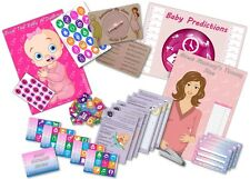 Baby Shower Party Games  /  6 GAMES  /  PINK-GIRL  -  up to 20 players