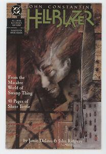 Hellblazer 1 DC Vertigo 1988 VF John Constantine Jamie Delano Dave McKean