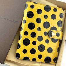 RARE Louis Vuitton Yayoi Kusama Infinity Dots PM Cover Agenda