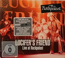 Lucifer's Friend-Live at the Rockpalast 74 German prog psych cd + DVD region fre