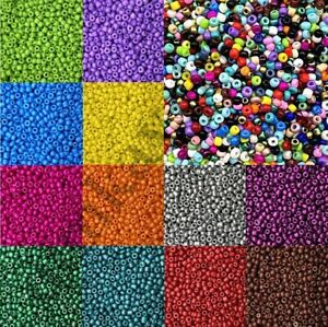 1000pcs/Lot 2mm/3mm/4mm Seed Beads Spacer Glass Charm Czech Round Jewelry Making