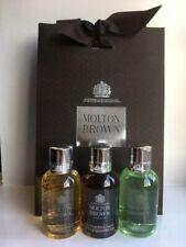 Molton Brown Men's Shower Gel Gift Set (3 x 50ml) - NEW