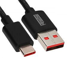 USB C Kabel Daten Lade Typ C Ladekabel Datenkabel Nylon für Samsung Huawei 1m