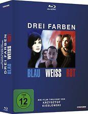 3 Blu-rays * DREI FARBEN - BOX-SET ( BLAU WEISS ROT ) ~ Kieslowski # NEU OVP $