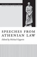 Speeches from Athenian Law (The Oratory of Classical Greece), , , Good, 2011-03-