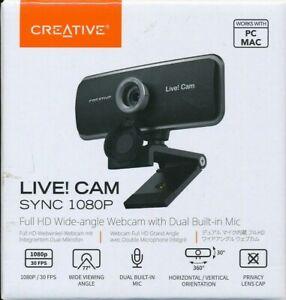 Creative Labs Live Cam Sync HD 1080p Webcam