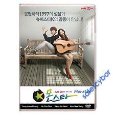 Monstar Korean Drama (3 DVD) Excellent English Subs & Quality.